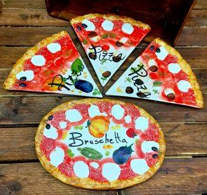Keramický set PIZZA tanierov