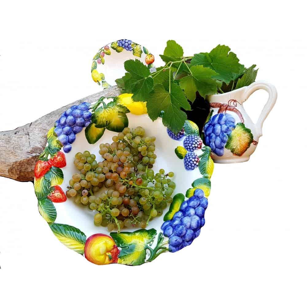 Keramická misa na ovocie CORONA