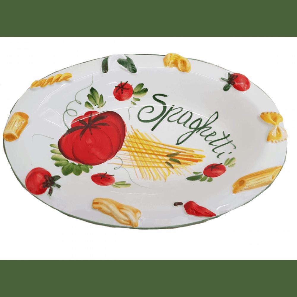 Keramické taniere na cestoviny, špagety