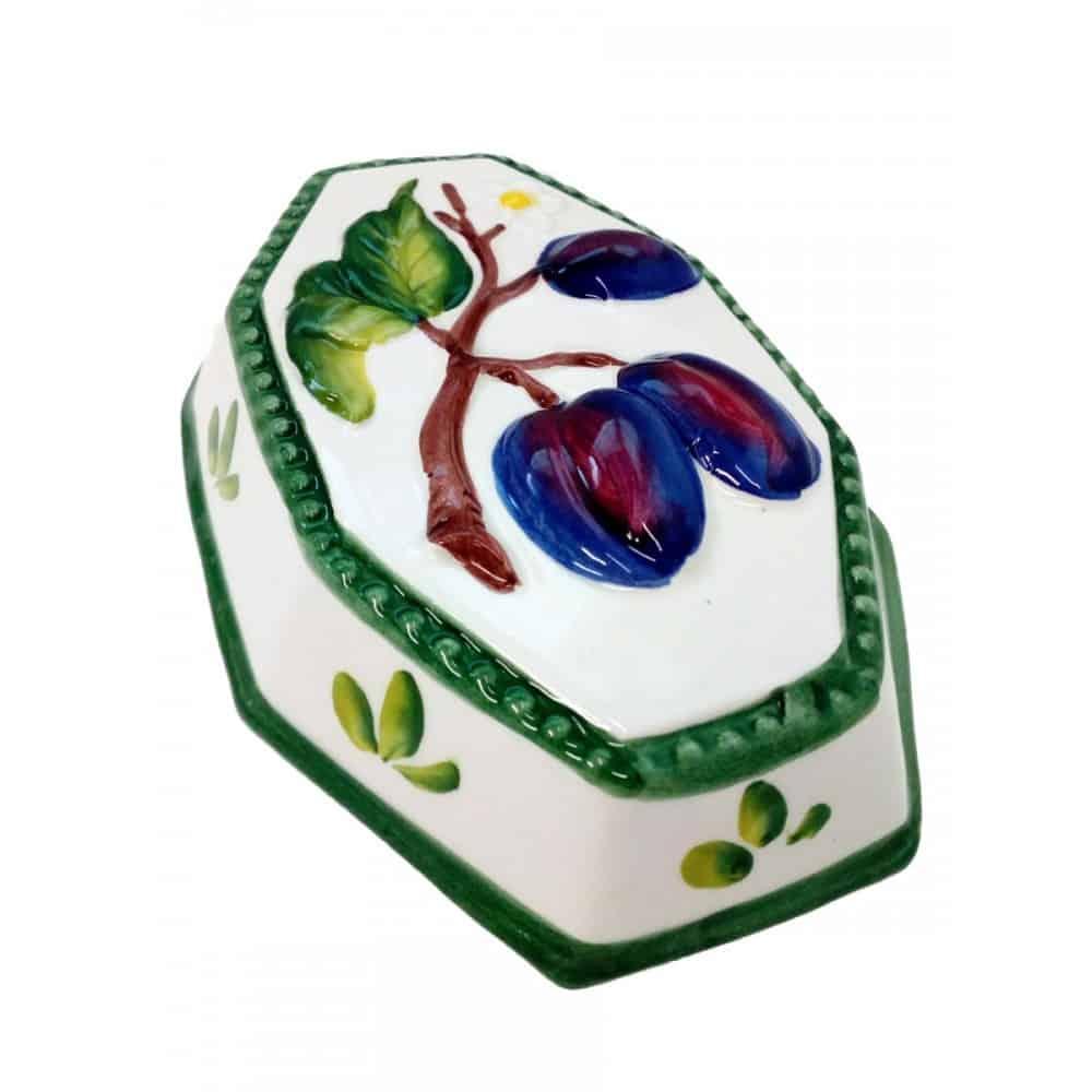 Keramická závesná dekorácia