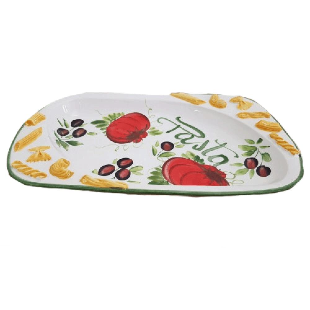 Keramický servírovací tanier na cestoviny OBD