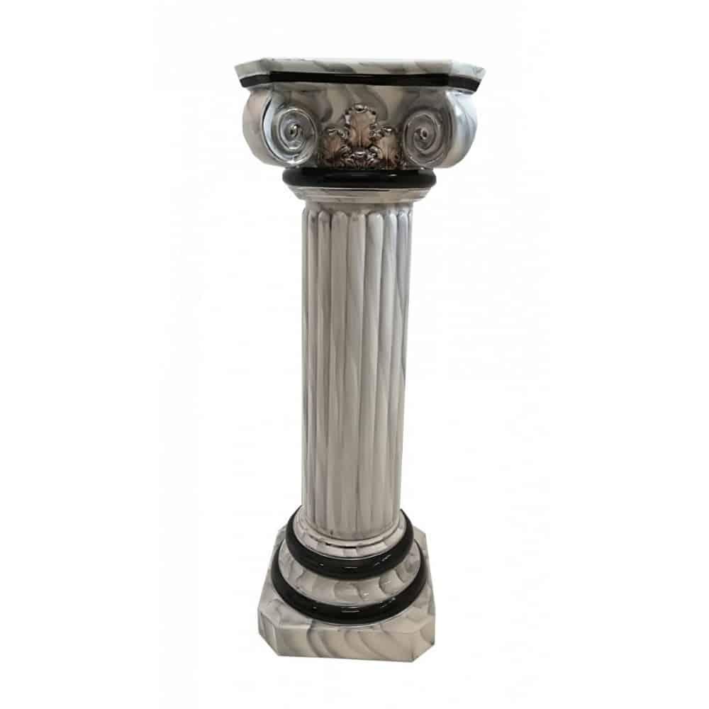 Keramický dekoračný stĺp