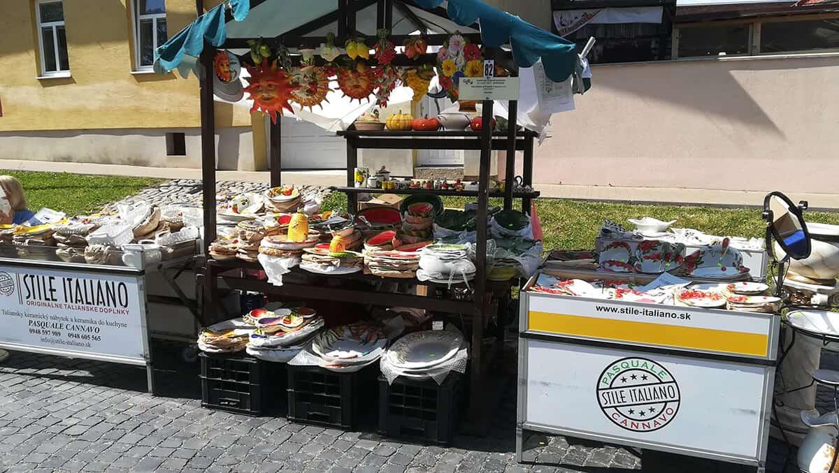 Talianske trhy - Kežmarok