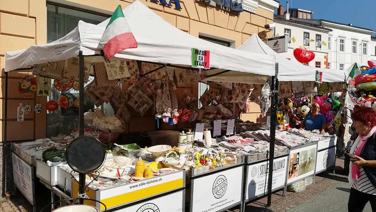 Talianske trhy - Radvansky jarmok