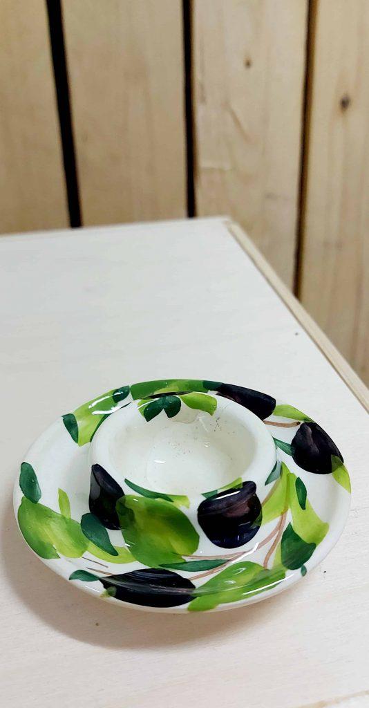 Keramický stojan na vajíčko OLIVA