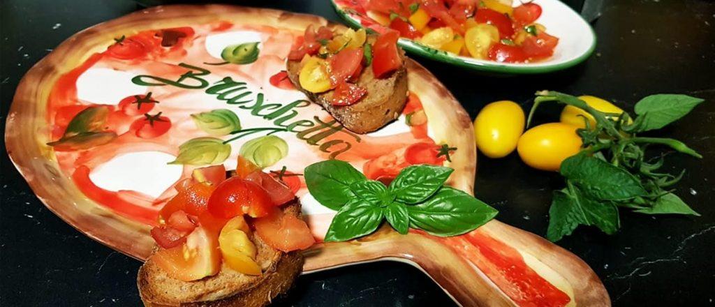 Talianska bruschetta (recept)
