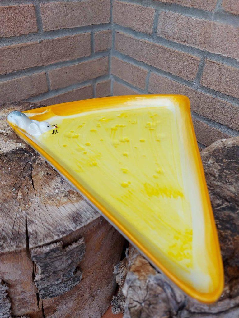 Keramické taniere na syr