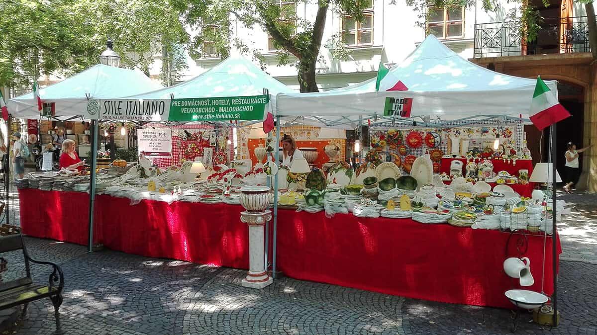 Aké sú talianske trhy?