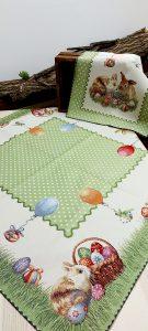 Veľkonočný gobelínový obrus 100 x 100