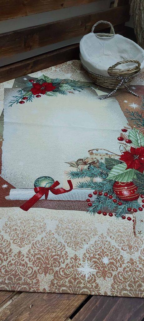 Vianočné a veľkonočné gobelínové obrusy 100 x 100