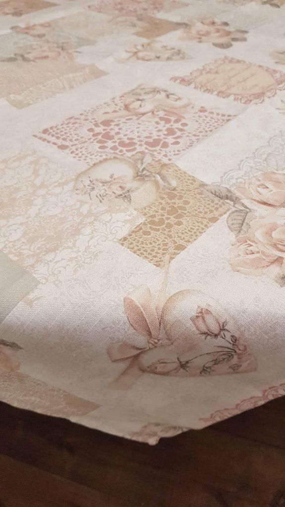 Bavlnené obrusy ROSE s motívom jemných ruží