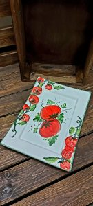 Obdĺžnikový paradajkový tanier 1767/34 BR