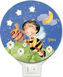 Nočné svetielko sladké sny VČIELKA