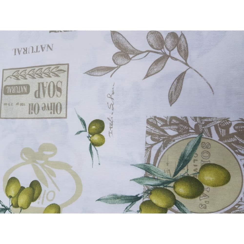 Bavlnené obrusy s jemným motívom OLIVA