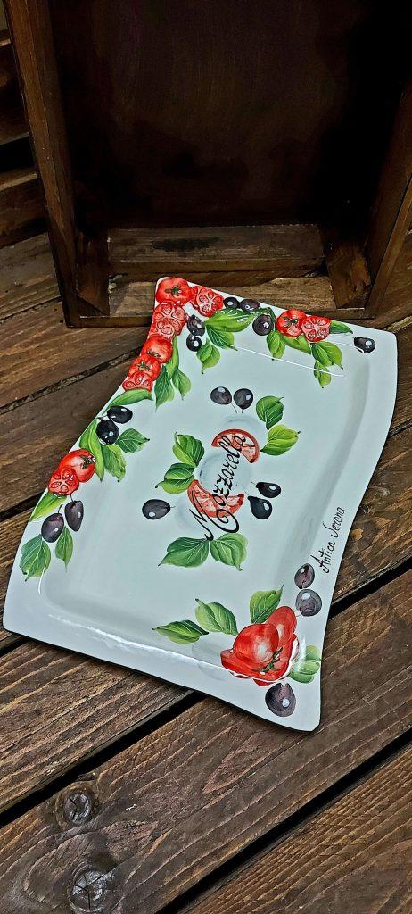 Keramický podnos tanier 3422 ANTICA VERONA