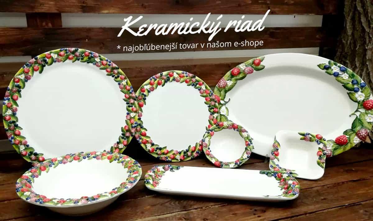 Najpredávanejší keramický riad
