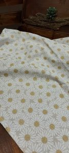Bavlnené obrusy s motívom MARGARÉTKA