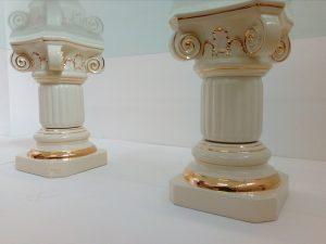 Taliansky keramický konferenčný stôl COLONNE 50