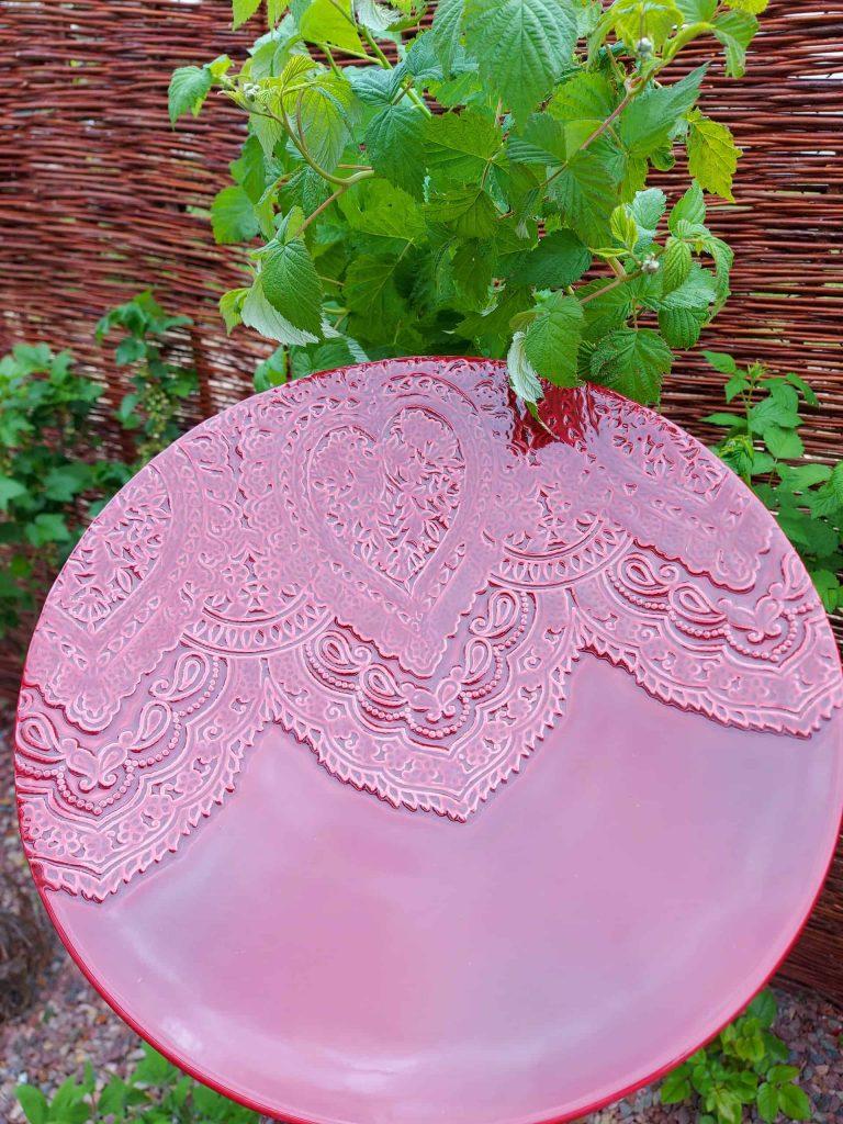 VÁZA a PODNOS z keramiky rôzne farby