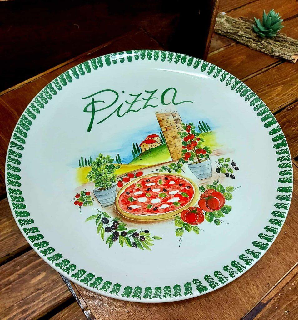 Keramické pizza taniere a lopáre