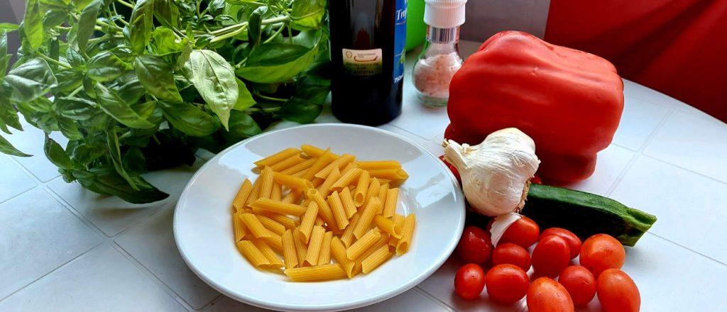 Trofie con la verdura - Trofie so zeleninou (recept)