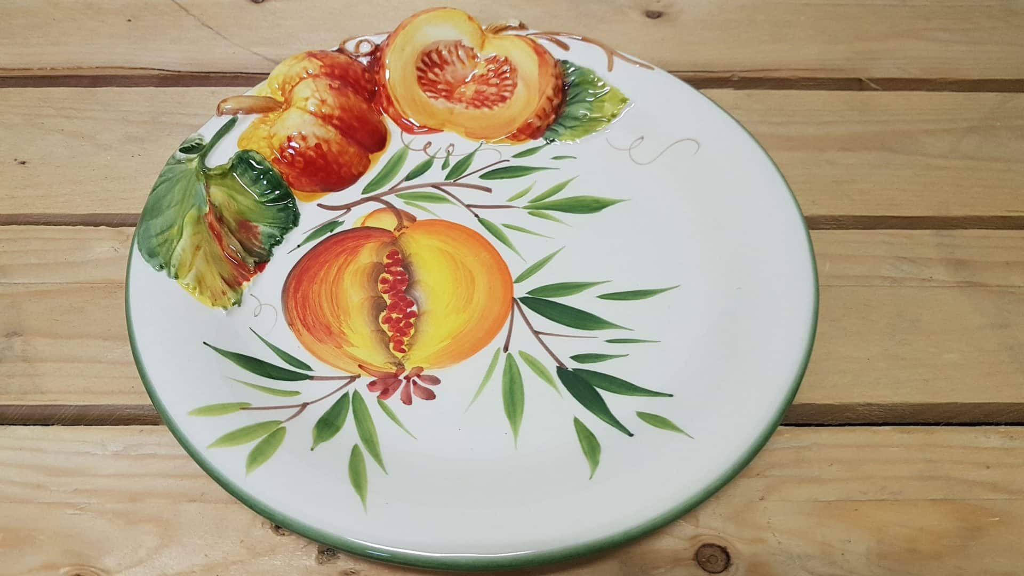 Keramické taniere a misky s motívom tekvica