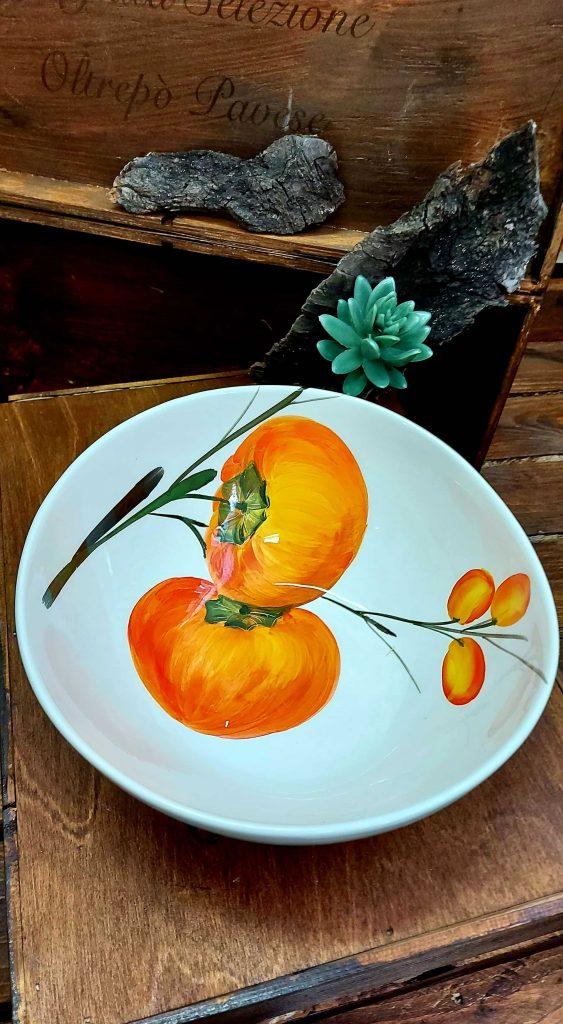 Hlboké misky z keramiky s ovocným motívom GIADA ED