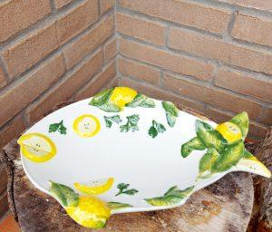 Keramický tanierik v tvare RYBA