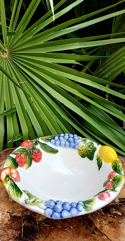Malá ovocná keramická miska FRUTTA