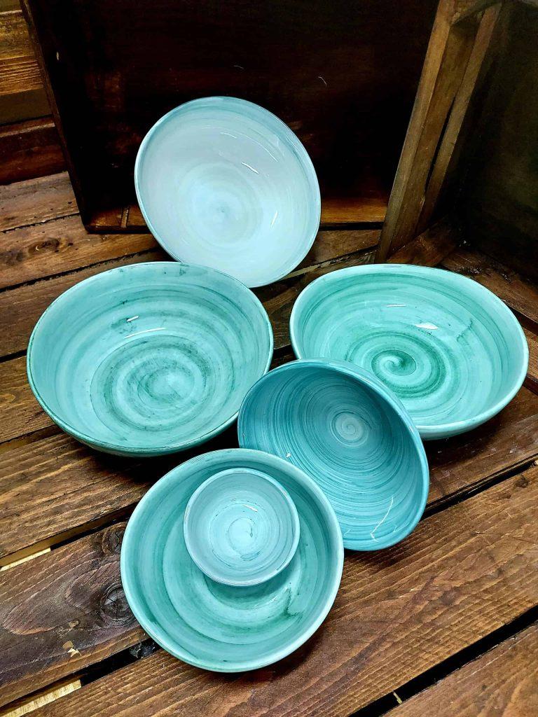 Keramika s morským motívom